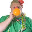 Clown with balloon — Stock Photo #1702013