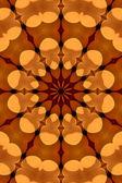 Abstraktní vzor kaleidoskop — Stock fotografie