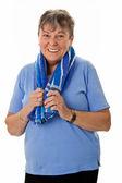 Femme senior après l'exercice — Photo