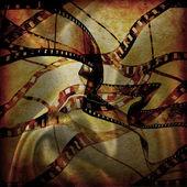 Movie frames or film strip — Stock Photo
