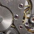 Old clock gear mechanism — Stock Photo
