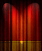 Cortina teatro rojo — Foto de Stock