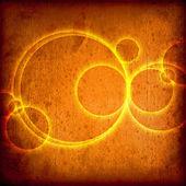 Bachkground 发光圆 — 图库照片