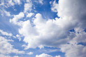 Sky with cloud — Stock Photo