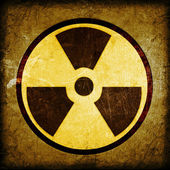 Radioactivity symbol — Photo