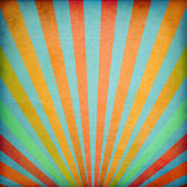 Multicolor Sunbeams — Stock Photo