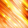 Glittering stars blurred yellow and red background — Stock Photo #33010595