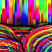 Bright colorful lines — Stock Photo