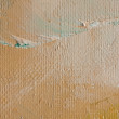 Canvas with oil brush lines — Stock Photo