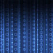 Abstract blue background — Stock Photo