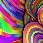 Colorful bright lines — Stock Photo
