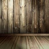 古い木製インテリア — ストック写真