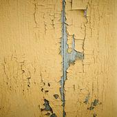 Yellow ragged wall — Stock Photo