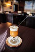 Caramel coffee — Stock Photo