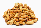 Pile of dried peanuts — Foto Stock