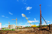 Construction site — Stok fotoğraf