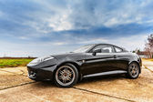 Black sport car — Stock Photo