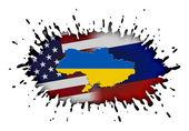 Concept of Ukraine crisis — Stock Photo