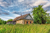Old rural hut — Stock Photo