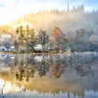 Stock Photo: Lake in haze