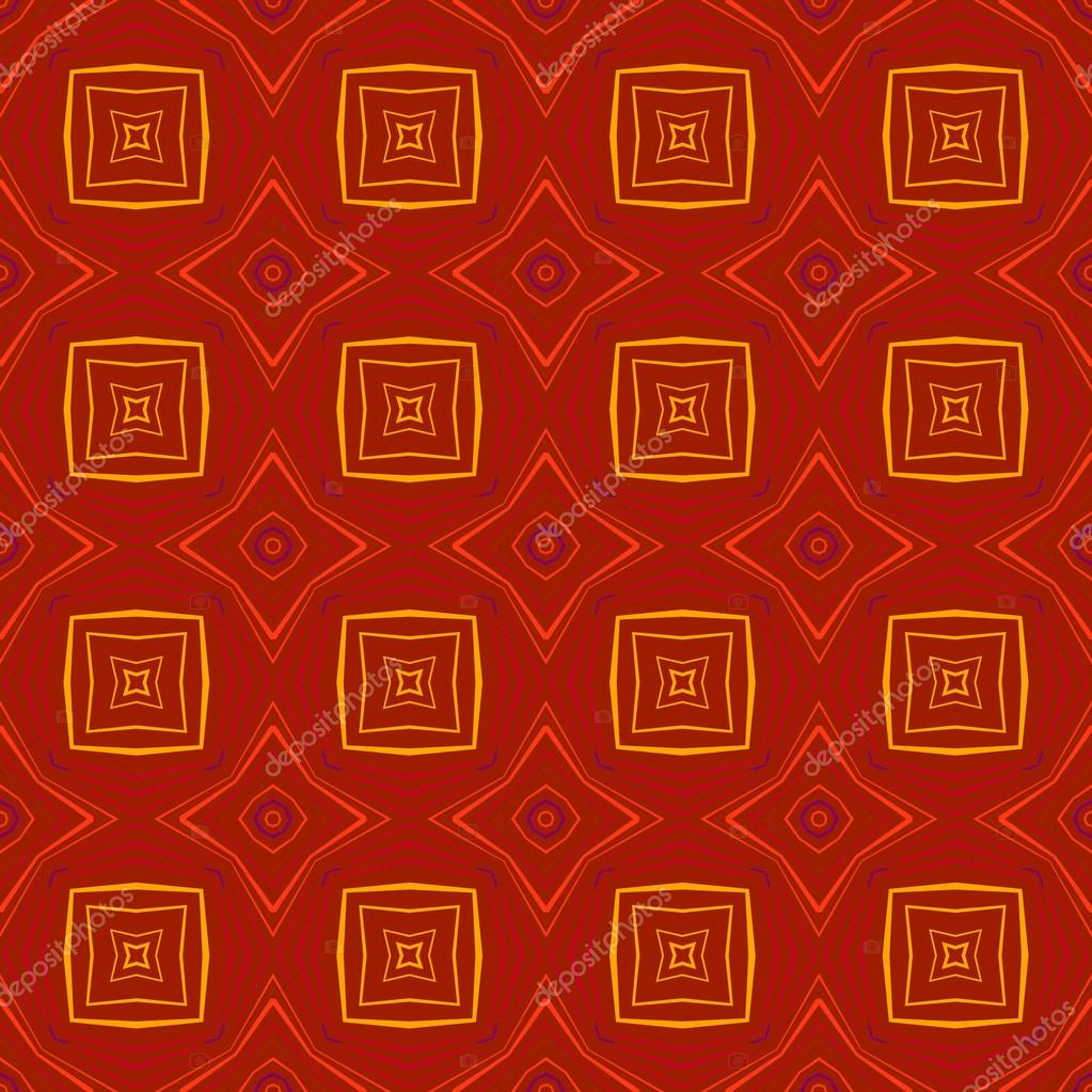 Abstract vintage geometric wallpaper pattern seamless background. Vector illustration  Stock Vector #12446439