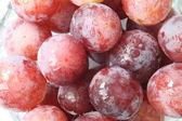 Sfondo di macro closeup uva — Foto Stock