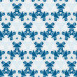 Ethnic modern geometric seamless pattern ornament background — Vettoriali Stock