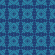Ethnic modern geometric seamless pattern ornament - Векторная иллюстрация