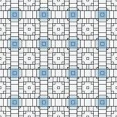 Moderne motif géométrique sans soudure de pixel — Vecteur