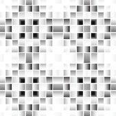 Pixel modern geometric seamless pattern — Stock Vector