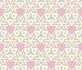 Modern geometric seamless pattern ornament background — Stock Vector