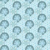 Zima nowoczesne geometryczny wzór ornament tło — Wektor stockowy