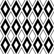 Modern geometric seamless pattern ornament background - 图库矢量图片