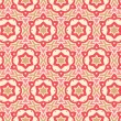 Modern geometric seamless pattern ornament background — Векторная иллюстрация