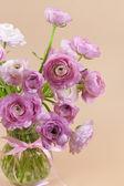 Flowers art design. Wedding holiday card — Stock Photo