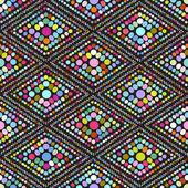 Geometric seamless pattern illustration background — Stock Vector