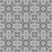 Decorative modern geometric seamless pattern — Stock Vector