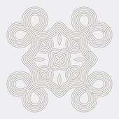 Mandala. Round Ornament Pattern. — Stock Vector