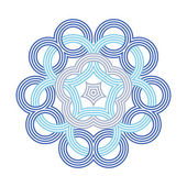 Celtic knot pattern card, mandala, amulet — Stock Vector
