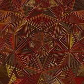 Celtic knot pattern card, mandala, amulet — Vector de stock