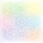 Celtic knot pattern card, mandala, amulet — Stok Vektör