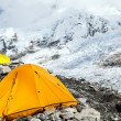 Everest Base Camp and tent — Stock Photo #14068258