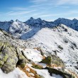 Mountains landscape, sunny day in Tatras — Stock Photo