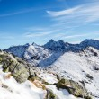 Mountains landscape, sunny day in Tatras — Stockfoto