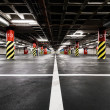Parking garage underground interior — Stock Photo #27480159