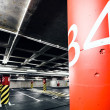 Parking garage underground interior — Stock Photo #27480233