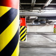 Stock Photo: Parking garage underground interior