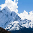 Mountains Ama Dablam, Himalaya landscape — Stock Photo