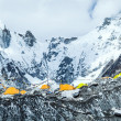 Everest Base Camp mountains landscape — Stock Photo #35189293