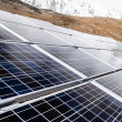 Solar Power Station in Himalaya mountains — Stock Photo
